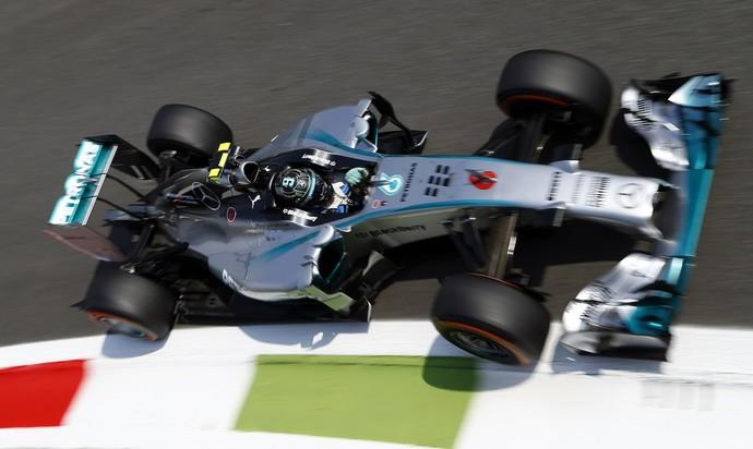 Nico Rosberg foi o mais rápido no segundo treino livre para o GP da Itália (Foto: Reuters)