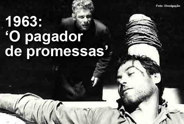 Em 1963, 'O pagador de promessas', dirigido por Anselmo Duarte, concorreu ao Oscar de melhor filme estrangeiro (Foto: Divulgação)