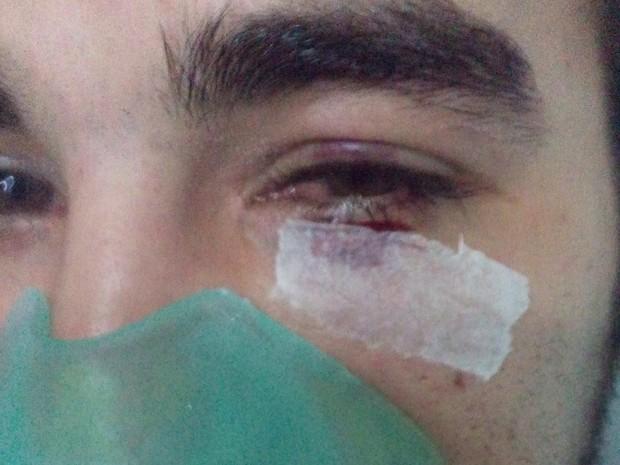 Paciente foi agredido após encontrar médico dormindo durante o expediente (Foto: Rodrigo Rodrigues / Arquivo Pessoal)