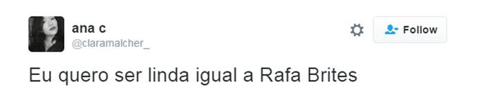 rafa brites tweet (Foto: Reprodução/Internet)