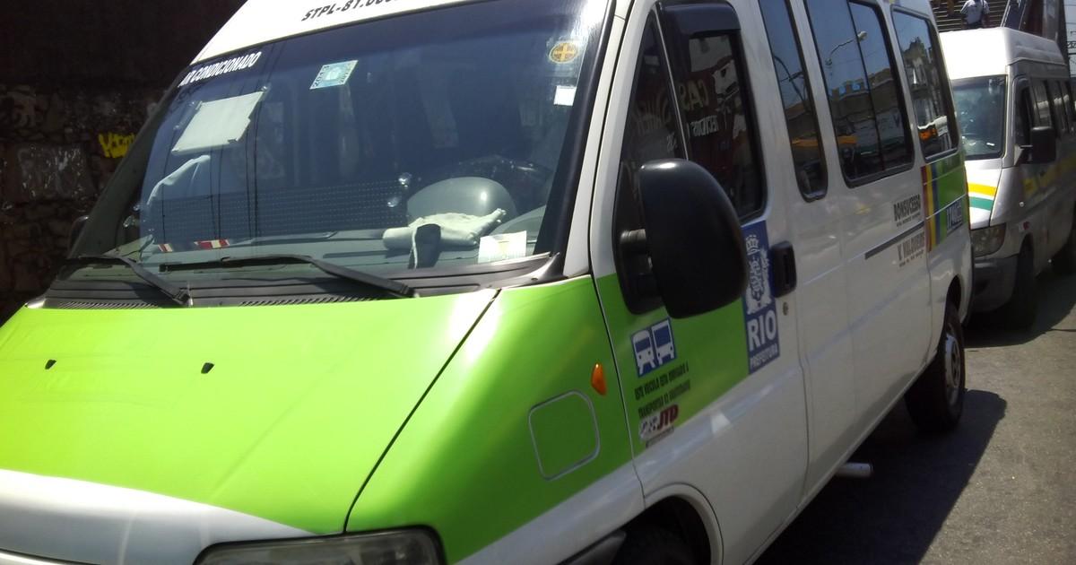 Prefeitura do Rio implementa regras para circulação de vans na ... - Globo.com