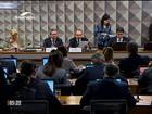 Comissão do Senado ouve autores do pedido de impeachment de Dilma