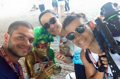 Rafael Norton, Ana Luiza Garcez, Angélica Brum e Sandiego Fernandes (Foto: Arquivo pessoal)