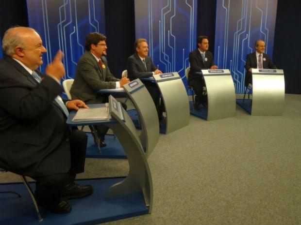 Debate (Foto: Sérgio Tavares Filho/G1)