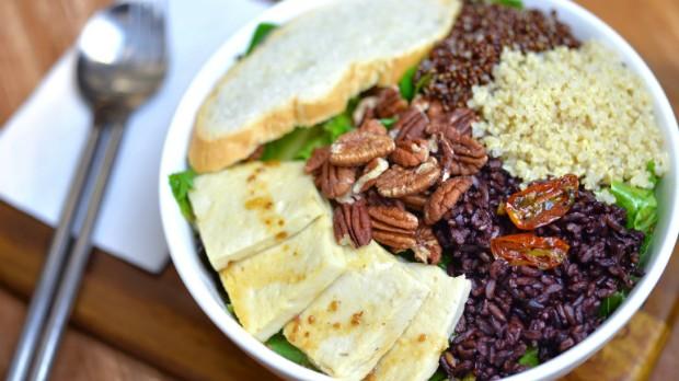 Dieta vegetariana  o regime alimentar que se baseia no consumo de alimentos de origem vegetal (Foto: Getty Images)