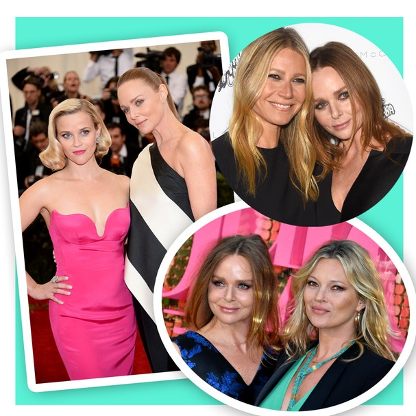 Na lista de clientes (e amigas) de Stella, nomes como Reese Witherspoon, Gwyneth Paltrow e Kate Moss (Foto: Getty Images)