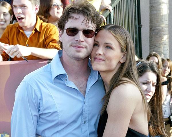 Jennifer Garner e Scott Foley (Foto: Getty Images)