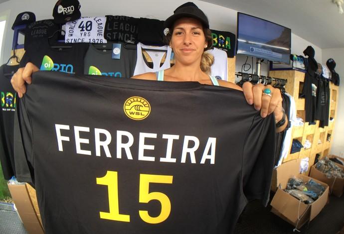 Loja WSL camisa Italo Ferreira surfe (Foto: Thiago Correia)