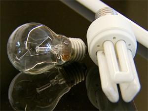 Lâmpadas fluorescentes devem substituir halógenas (Foto: Reprodução / EPTV)