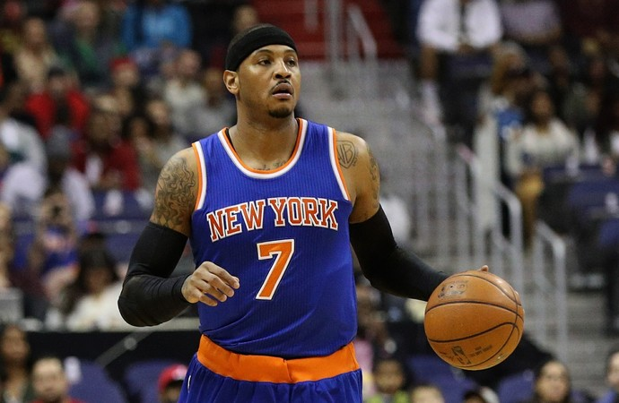Carmelo Anthony New York Knicka NBA Basquete (Foto: Getty images)