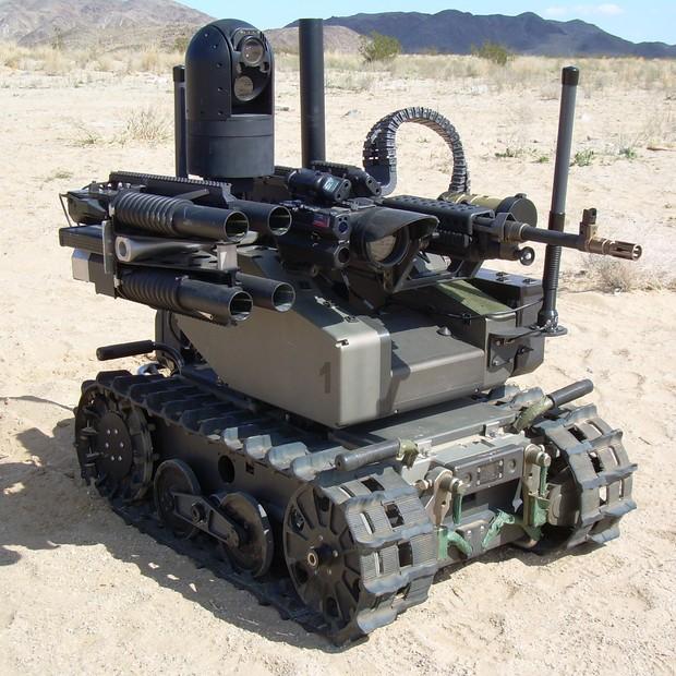 Sistema modular robótico armado, produzido pela Qinetiq (Foto: Divulgação)