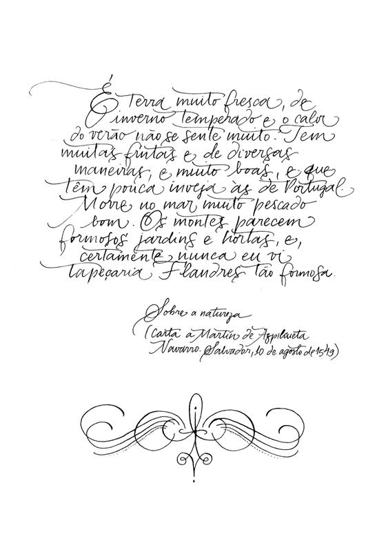 Carta 2 Manuel da Nóbrega (Foto:  Estúdio Italico)