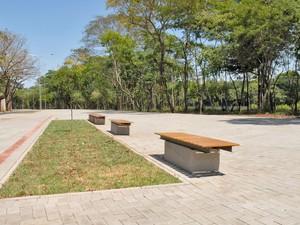 Avenida Renato Wagner é reaberta ao público neste domingo  (Foto: Araripe Castilho/G1)