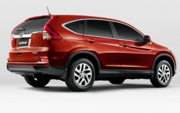 Honda CR-V LX 2015 (Foto: Divulgação)