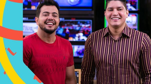 Henrique e Diego apresentam TVZ (Foto: Fabiano Leone)