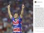Corrêa se despede do Fortaleza com mensagem em rede social