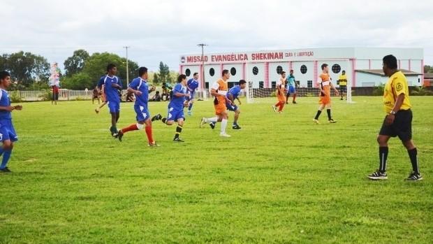 Divino FC de Rondônia participa do Torneio de Futebol Suíço em Vilhena (Foto: Flávio Godoi/GLOBOESPORTE.COM)