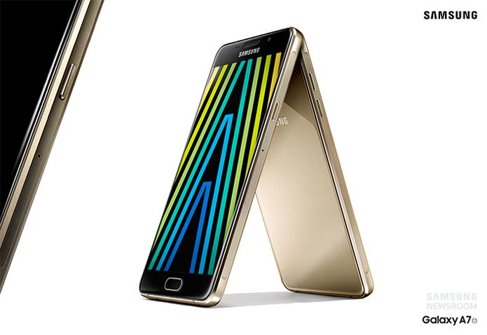 Linha Galaxy A ganha versão 2016 com acabamento premium (Foto: Divulgação/Samsung)