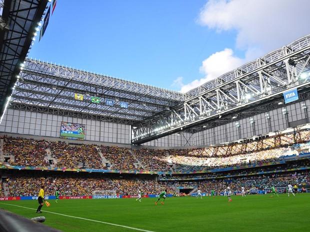 Arena da Baixada teve média de 39 mil pessoas por jogo durante a Copa (Foto: Gustavo Oliveira/Site Oficial do Atlético-PR/Divulgação)
