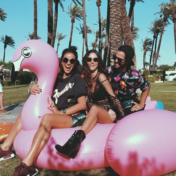 Bruna Marquezine, Thaila Ayala e André Nicolau (Foto: Instagram / Reprodução)