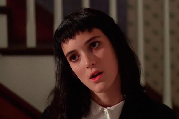 Winona Ryder como Lydia Deetz em Os Fantasmas se Divertem (Foto: Divulgação)