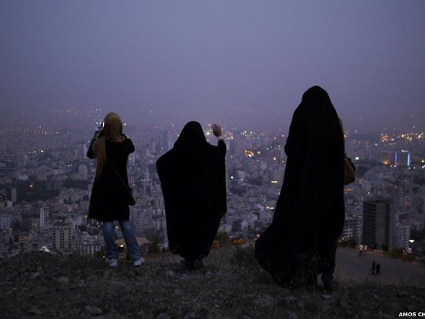 Amos Chappel fotografou diversidade cultural do país (Foto: Ammo Chappel/Rex Features)