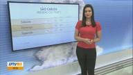 Confira a previsão do tempo para este fim de semana em São Carlos e região