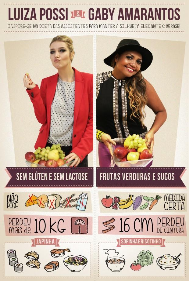 Dieta das assistentes (Foto: The Voice Brasil/TV Globo)