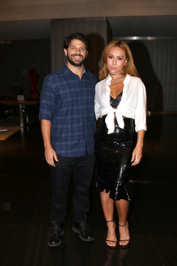 Duda Nagle e Sabrina Sato (Foto: Thiago Duran/AgNews)
