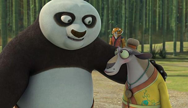 Po descobre que está prometido a Lu-Shi e decide se casar (Foto: Divulgação/Reprodução)