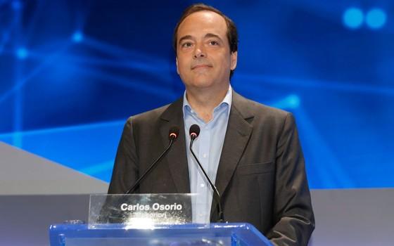Carlos Osorio, candidato a prefeito do Rio (Foto: Gustavo Serebrenick / Brazil Photo Press / Agência O Globo)
