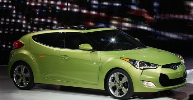 Apresentação do Hyundai Veloster  (Foto: AP)
