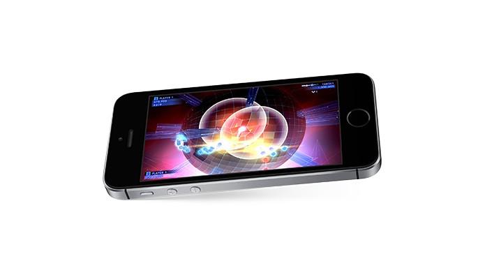 iPhone SE é a opção portátil para carregar no bolso e praticar corrida (Foto: Divulgação/Apple)