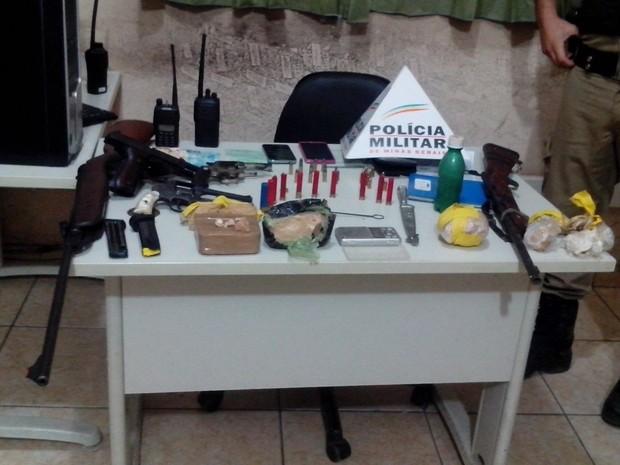 Material roubado da casa de PM reformado (Foto: Polícia Militar/Divulgação)