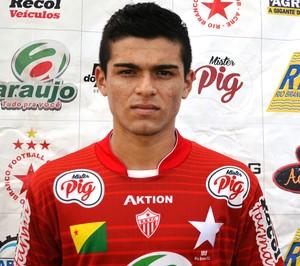 Vicente Torres, 17 anos, Rio Branco-AC (Foto: Duaine Rodrigues)