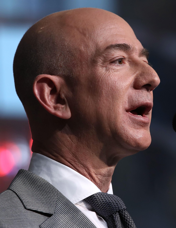Jeff Bezos, da Amazon (Foto: Getty Images)