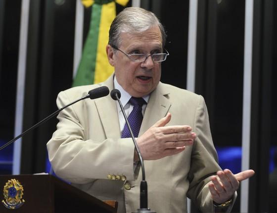 O senador Tasso Jereissati (PSDB-CE) (Foto: Moreira Mariz/Agência Senado)