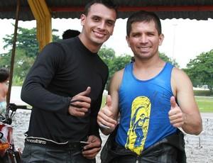 Motovelocidade Amazonas, Anderson Eduardo e Ivo Gama (Foto: Frank Cunha/Globoesporte.com)