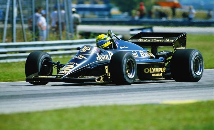 Ayrton Senna lotus GP Brasil 1995 (Foto: Agência Getty Images)