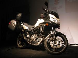 Suzuki DL 650 V-Strom (Foto: Rafael Miotto/G1)