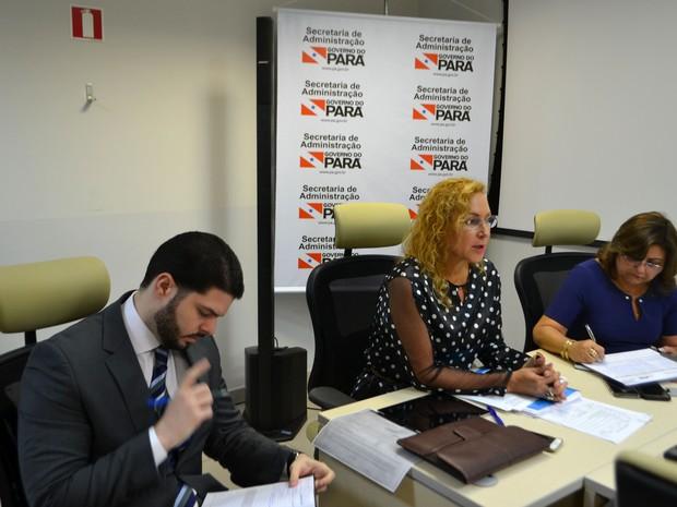 Secretária Alice Viana diz que estado não tem recurso para pagar piso de professores (Foto: Ascom / Sead)