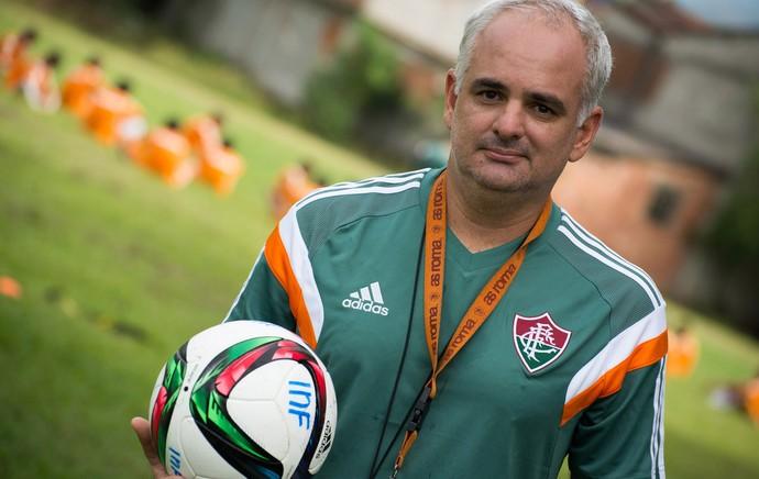 47f20abda6 Ricardo Perlingeiro - técnico sub-17 do Flu (Foto  Bruno Haddad  Fluminense