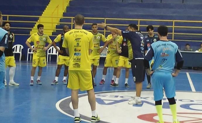 São José Futsal treino (Foto: Gabriel Dantas/GloboEsporte.com)