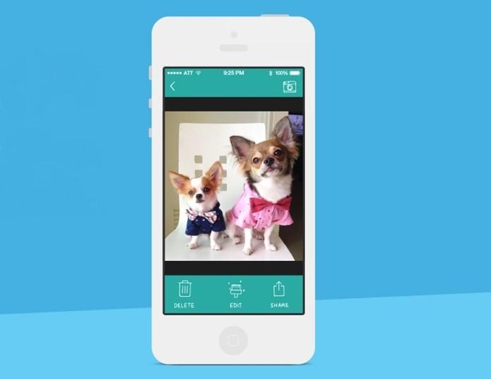 BarkCam, app para iOS para tirar fotos de cachorro (Foto: Divulgação/BarkBox)