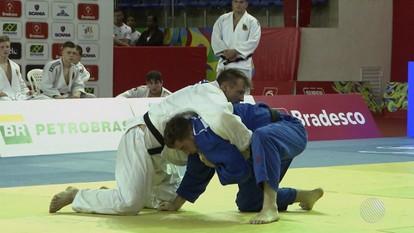 Copa Internacional de Judô é realizada no Panamericano de Lauro de Freitas