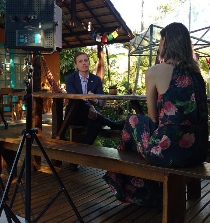 Médico dá dicas contra o estresse no Mistura com Camille Reis  (Foto: RBS TV/Divulgação )