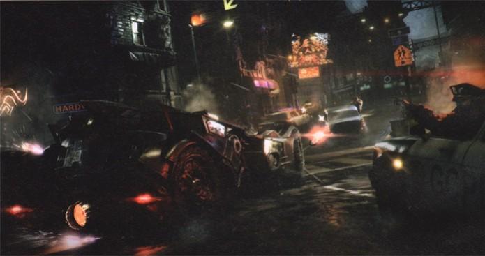 O Batmóvel de Batman: Arkham Knight (Foto: Divulgação) (Foto: O Batmóvel de Batman: Arkham Knight (Foto: Divulgação))
