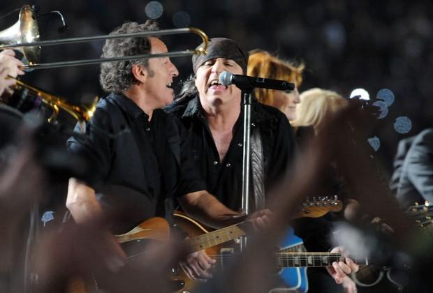 Bruce Springsteen e E Street Band - Super Bowl 2009 (Foto: Jeff Kravitz / Contributor / Getty)