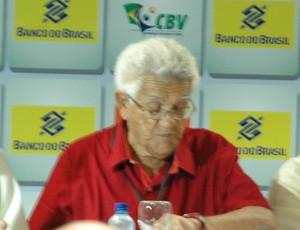 Walter Pitombo Laranjeiras, atual presidente da Confederação Brasileira de Vôley, Toroca, em João Pessoa (Foto: Rammom Monte / GloboEsporte.com/pb)