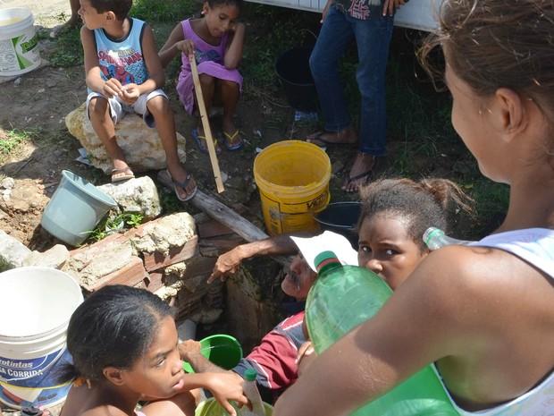 Falta de abastecimento de água na cidade de Aracaju (SE), nesta segunda-feira (11) (Foto: Jadilson Simões/Futura Press/Futura Press/Estadão Conteúdo)